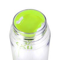 """Бутылка пластик прозрачная """"My bottle"""" с салатовой крышкой 500 мл"""