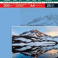 Фотобумага Lomond, 200 г/м2 А4 односторонняя глянцевая, 25 л.