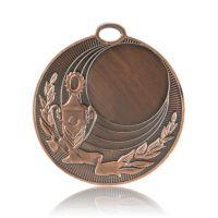 Медаль HB074 бронза D50мм, D вкладыша 25мм