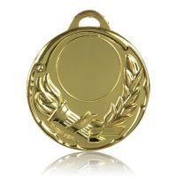 Медаль HB105 золото D50мм, D вкладыша 40мм