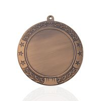 Медаль корпусная MK180c бронза D медали 70мм, D вкладыша 50мм