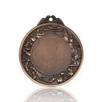 Медаль Zj-M756 бронза D70мм, D вкладыша 42мм