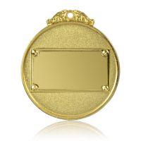 Медаль Zj-M815 золото D65мм, D вкладыша 40мм