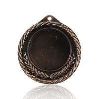 Медаль Zj-M818 бронза D70мм, D вкладыша 45мм, задний вкладыш 30х42мм
