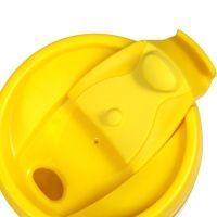 Термостакан пластик жёлтый под полиграф вставку 350 мл