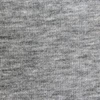 Толстовка женская футер с начесом, хлопок 320 г/м.кв., серый меланж 46 (M)